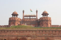 Delhi Red Fort,view from the external Royalty Free Stock Photography
