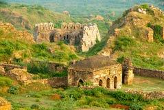 Delhi ruins Stock Image