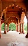 delhi sławna fortu czerwień Fotografia Royalty Free
