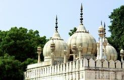 delhi sławnego fortu ind mouque stara perła Zdjęcia Stock