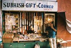 Delhi Shop Royalty Free Stock Photo