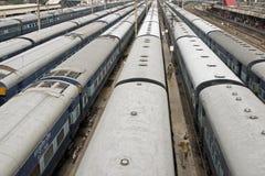 delhi stacji pociągu Obraz Royalty Free