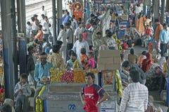 delhi stacji pociągu Fotografia Royalty Free
