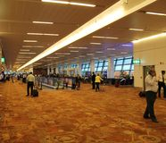 Delhi T3 Airport Terminal Stock Photography