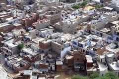 Delhi van hierboven Stock Afbeeldingen