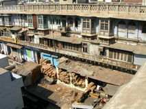 Delhi vieja, la India Foto de archivo