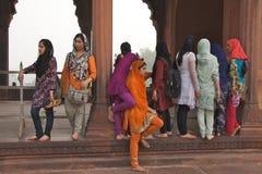 Delhi vieja, la India - noviembre de 2011 Foto de archivo