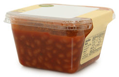 Deli Baked Beans Royalty Free Stock Photos