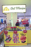 Deli manjoo shop in yangon Royalty Free Stock Photo