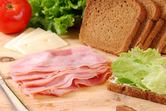 Deli Meats Stock Image