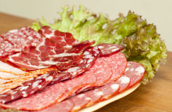 Deli meats Royalty Free Stock Photography