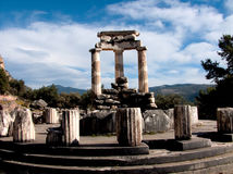 Deli o templo Imagem de Stock