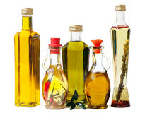 Deli Olive Oel in Bottles Royalty Free Stock Photos