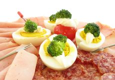 Deli Platter Stock Photography