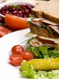 Deli Sandwich 007 Royalty Free Stock Photo
