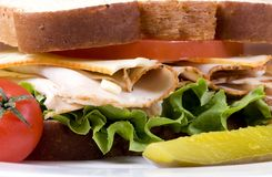 Deli Sandwich 012 Stock Photos