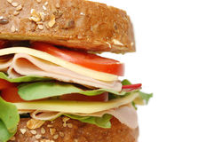 Deli sandwich royalty free stock images