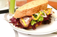 Deli Sandwich Royalty Free Stock Photo