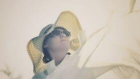 Delia concentró Fotografía de archivo libre de regalías