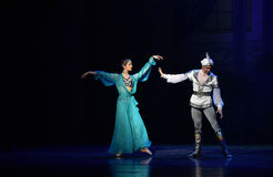 """Deliberately retain- ballet """"One Thousand and One Nights"""" Royalty Free Stock Photography"""