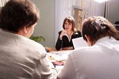 Deliberation Royalty Free Stock Photography