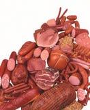 Delicadezas de la carne Fotografía de archivo libre de regalías
