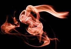 Delicado colorido artístico do sumário e fundo liso do efeito do fumo fotos de stock royalty free