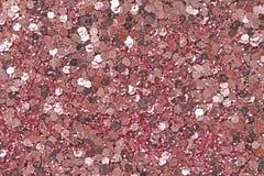 Delicado cor-de-rosa fundo borrado de Boke Círculos abstratos de Christmaslight Lantejoulas e fundo cor-de-rosa brilhante da cor  fotografia de stock