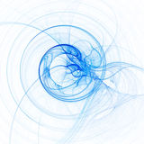 Delicate abstract blue background Stock Photography