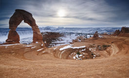 Delicate Arch. Arches National Park, Utah Stock Image