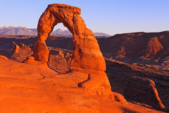 Delicate Arch Royalty Free Stock Photo