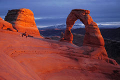 Delicate Arch Stock Photography