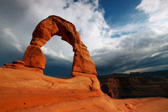 Delicate Arch Stock Photo