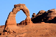 Delicate Arch. In Arches National Park, Utah Stock Photo