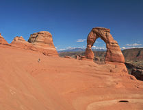 Delicate Arch. Royalty Free Stock Images