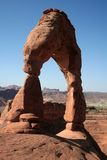 Delicate arch. In arches national park, utah, us Royalty Free Stock Images