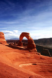 Delicate Arch. In Arches National Park Stock Photography