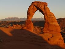 Delicate Arch, Arch, Stone Arch Royalty Free Stock Photography