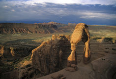 Delicate Arch, Arches National Park. Utah, sunrise Royalty Free Stock Photo