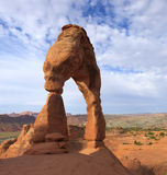 Delicate Arch, Arches National Park Royalty Free Stock Images
