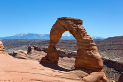 Delicate Arch Arches National Park Stock Photos