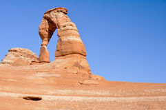 Delicate arch, Arches national park, Utah Royalty Free Stock Image