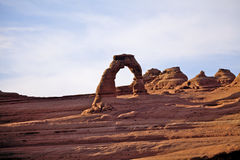 Delicate Arch Arches National Park Utah Stock Photos