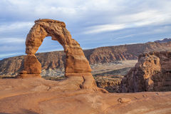 Delicate Arch. Arches National Park, Utah Royalty Free Stock Photo