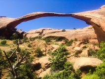 Delicate Arch in Arches National Park, Utah Stock Photos