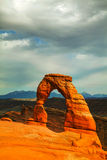 Delicate Arch at the Arches National Park, Utah, USA Royalty Free Stock Photography