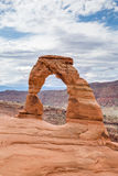 Delicate Arch in Arches National Park, Utah, USA Royalty Free Stock Photography