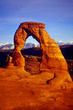 delicate arch, arches park UT Royalty Free Stock Photography