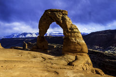Delicate Arch.dng Royalty Free Stock Photography