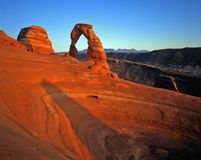 Delicate Arch (H) Stock Photography
